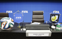 FIFA Executive Committee Meeting in Zurich Royalty Free Stock Photos