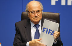 FIFA Executive Committee Meeting in Zurich Stock Photos