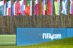 FIFA Executive Committee Meeting in Zurich Royalty Free Stock Photography