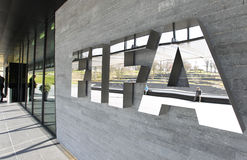 FIFA Executive Committee Meeting in Zurich Stock Image