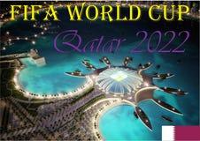 FIFA puchar świata Katar 2022 Fotografia Royalty Free