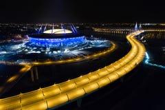 2018 FIFA världscup, Ryssland, St Petersburg, St Petersburg stadion arkivbild