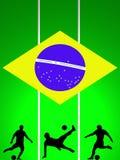 FiFA världscupturnering 2014 Brasilien Arkivbild