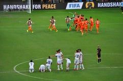 Fifa-Weltcup 2014 Stockfoto
