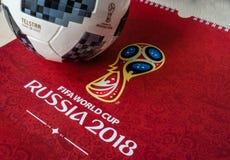 FIFA-Weltcuptrophäe Stockbild