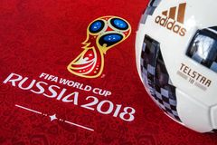 FIFA-Weltcuptrophäe Lizenzfreies Stockbild