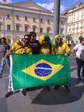 Fifa-Wereldbeker 2018 Brazilië Moskou Rusland stock foto