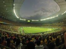Fifa-Wereldbeker 2015: Griekenland versus Ivoorkust Stock Foto's