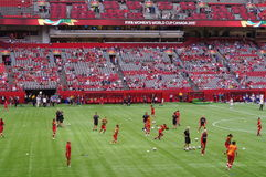 FIFA Women's world cup Canada 2015 Royalty Free Stock Photos