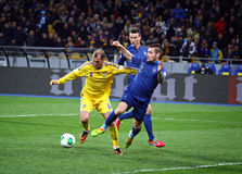 FIFA World Cup 2014 Qualifier Game Ukraine Vs France Stock Image