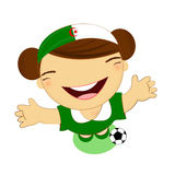 Fifa world cup 2014 algeria national football team Stock Photo