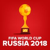 2018 FIFA World Cup Background Vector. Russia Event. World Cup Background. Match Competition. Championship Russia 2018. 2018 FIFA World Cup Background Vector Stock Photo