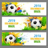 FIFA World Cup banner Royalty Free Stock Photography