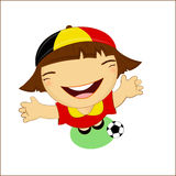 Fifa world cup 2014 belgium national football team Stock Photography
