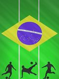 FIFA World Cup 2014 Brazil. Background FIFA World cup 2014 Brazil Stock Photo