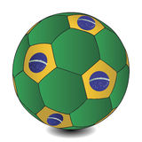 FIFA World Cup Brazil ball, vector Royalty Free Stock Photos