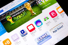 Fifa World Cup Brazil 2014 Stock Images