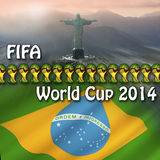 FIFA World Cup 2014 - Brazil Stock Images