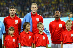 FIFA World Cup 2014 qualifier game Ukraine v England Stock Photography