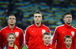 FIFA World Cup 2014 qualifier game Ukraine v England Stock Photo