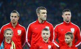 FIFA World Cup 2014 qualifier game Ukraine v England Stock Photo