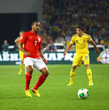 FIFA World Cup 2014 qualifier game Ukraine v England Royalty Free Stock Photography