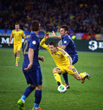 FIFA World Cup 2014 qualifier game Ukraine vs France Stock Images