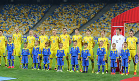 FIFA World Cup 2018 qualifying game Ukraine v Iceland Royalty Free Stock Image