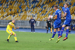 FIFA World Cup 2018 qualifying game Ukraine v Iceland Stock Photography