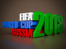 Fifa world cup 2018 in Russia Stock Photography