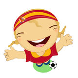 Fifa world cup 2014 Spain national football team Stock Images