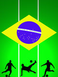 2014 FiFA World Cup Tournament Brazil. Background FIFA World Cup 2014 Brazil Stock Photography