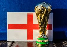 FIFA World Cup trophy stock photos
