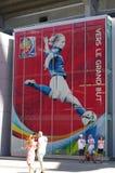 FIFA WWC Canada 2015 bij BC Place Stadium in Vancouver Royalty-vrije Stock Afbeeldingen