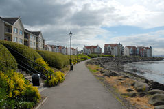 Fife village Royalty Free Stock Image