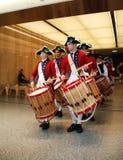 Fifes en de Trommels van de Stad van York Stock Foto