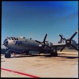 Fifi B29 WWII轰炸机飞机 免版税库存照片