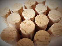 Wooden wine cork
