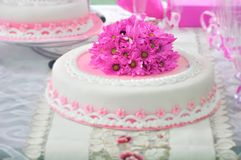 Fifteen years cake Royalty Free Stock Photography
