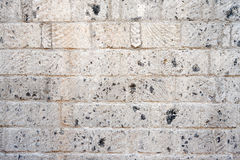 Fifteenth Century Stone Wall Royalty Free Stock Photo