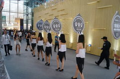 The fifteenth China (Shenzhen) international brand clothing apparel trade fair Stock Photography