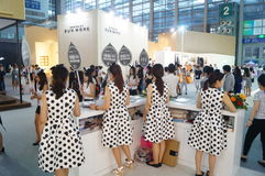 The fifteenth China (Shenzhen) international brand clothing apparel trade fair Stock Image