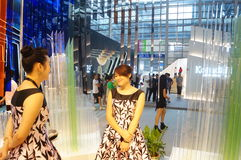 The fifteenth China (Shenzhen) international brand clothing apparel trade fair Royalty Free Stock Image