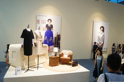 The fifteenth China (Shenzhen) international brand clothing apparel trade fair Stock Image