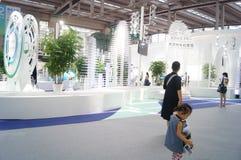 The fifteenth China (Shenzhen) international brand clothing apparel trade fair Stock Photos