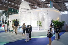 The fifteenth China (Shenzhen) international brand clothing apparel trade fair Royalty Free Stock Photography