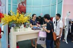 The fifteenth China (Shenzhen) international brand clothing apparel trade fair Royalty Free Stock Photos