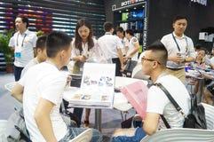 The fifteenth China (Shenzhen) international brand clothing apparel trade fair Royalty Free Stock Photo