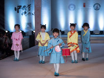 Fifteenth serii children mody przedstawienie Obraz Royalty Free