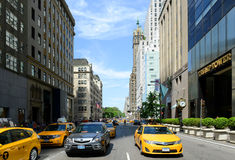 Fifth Ave, Manhattan, New York City Royalty Free Stock Photography
